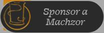 Sponsor a Machzor